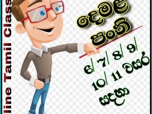 Online Tamil Classes