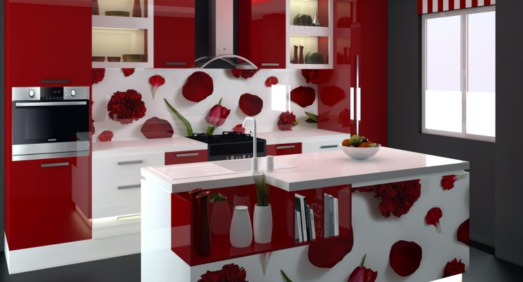 DESIGNS COLORFUL KITCHEN PANTRY