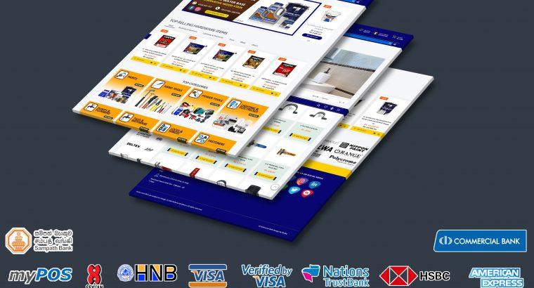 High Quality Web Designs in Sri Lanka