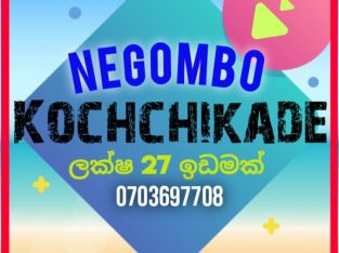 Land in Negombo kochchikade