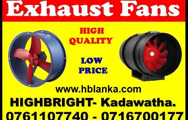 Exhaust fan srilanka, Industrial Blowers srilanka
