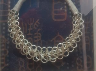 antique silver dollar circle frame