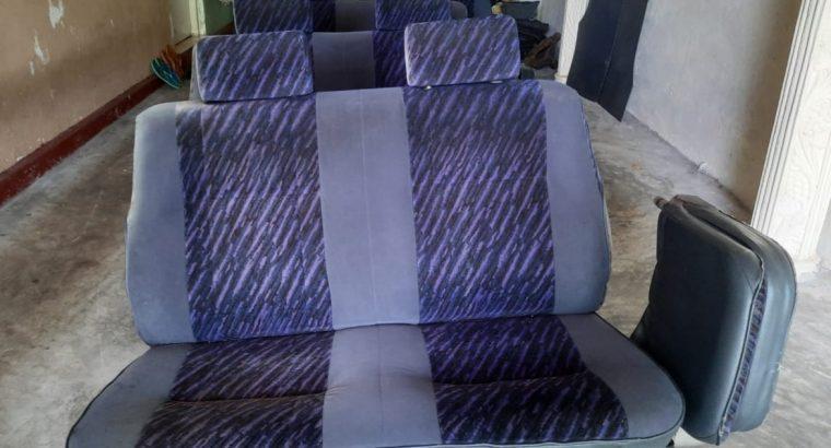 Seat set for a van