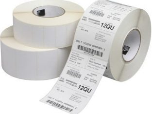 Barcode lable sticker and recipt bill roll