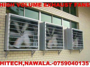 High volume exhaust fans srilanka