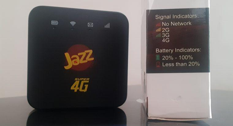 Jazz 4G Unlock Pocket Router Wi-Fi Hotspot