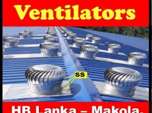 turbine exhaust fans srilanka